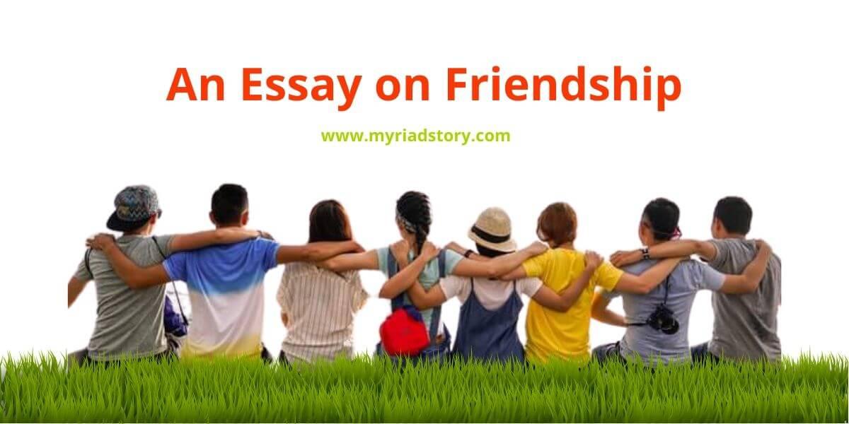 Student essay on friendship