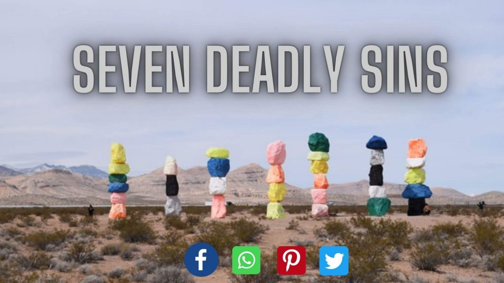 seven deadly sins with definitions